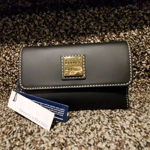 Dooney and Bourke flap wallet